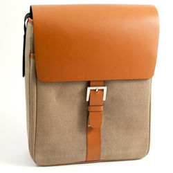 Leather Personalized Messenger Bag
