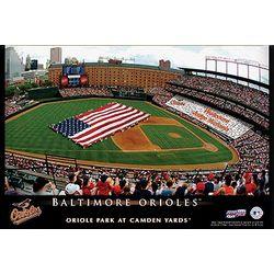 Personalized Baltimore Orioles 12x18 Stadium Canvas