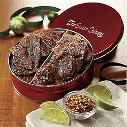 Pork and Beef Jerky Gift Tin
