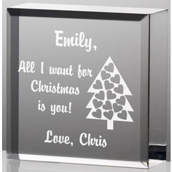 Personalized All I Want for Christmas is You Plaque