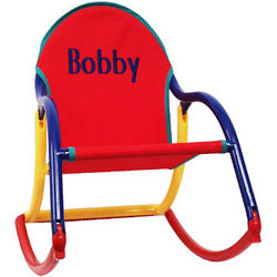 Personalized Folding Child Rocking Chair