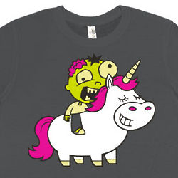 Zombie and Unicorn T-Shirt