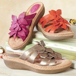 Amaya Flower Sandals