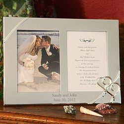 Lenox True Love Wedding Invitation and Picture Frame