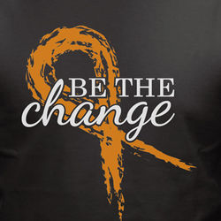 Be The Change Awareness Ribbon T-Shirt