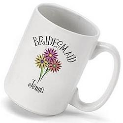 Personalized Bouquet Coffee Mug