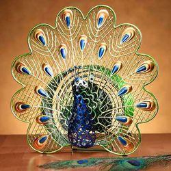 Peacock Figurine Fan