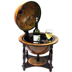 Turin Tabletop Legged Italian Replica Globe Bar