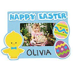 Easter Egg Chick Photo Frame Magnets Craft Kit