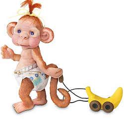 Monkey Toddles Figurine