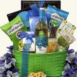 Sauvignon Blanc Wine Gift Basket