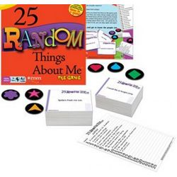 25 Random Things About Me Game