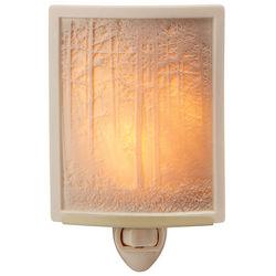 Woodland Sunbeams Lithopane Nightlight
