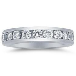 1.5CT Diamond Eternity Ring in 14k White Gold