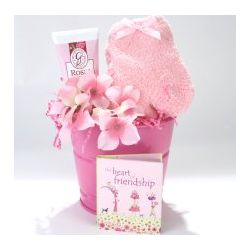 The Heart of Friendship Gift Basket