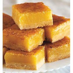 Créme Brulée Lemon Bars