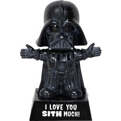 I Love You Sith Much Darth Vader Bobblehead