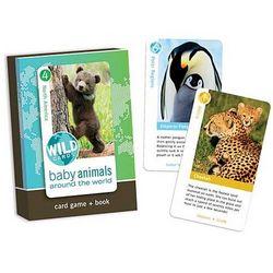 Baby Animals Around the World Wild Cards
