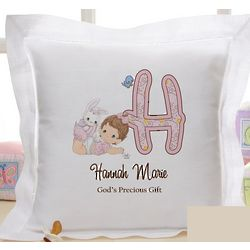 Personalized Precious Moments Baby Pillow