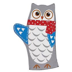 Snowy Owl Oven Mitt