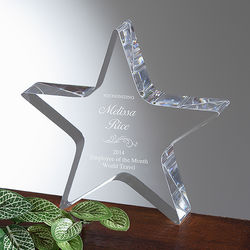 Star of Excellence Personalized Award