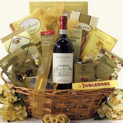 Frescobaldi Chianti Tuscan Wine Gift Basket