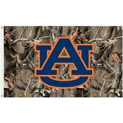 Auburn Tigers Camo Flag