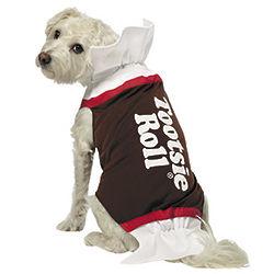 Dog Tootsie Roll Costume