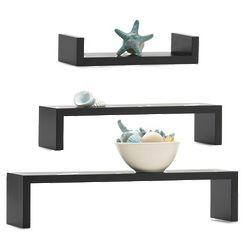 Set of Three Wall Shelves