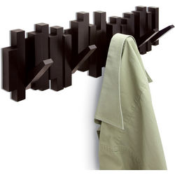 Sticks Design Multi Hook Coat Rack