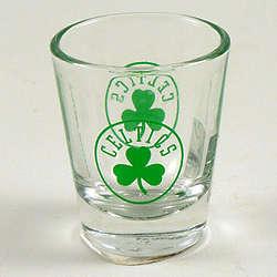 Boston Celtics Shot Glass