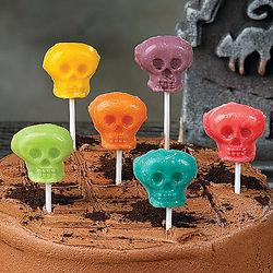 Gourmet Flavored Skull Suckers