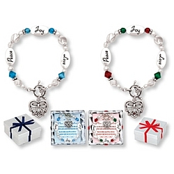 Peace, Joy, Love Bracelet