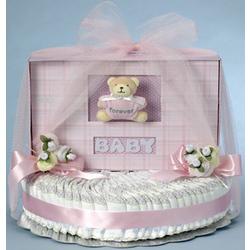 Forever Baby Diaper Cake for Girl