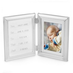 Hinged Birth Record Frame