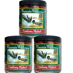 Wisconsin Wilderness Cranberry Mustard Gift Set