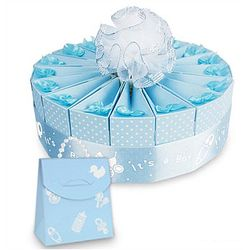 Baby Boy Shower Favor Cake Kit