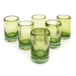 Lime and Salt Shot Glass Set