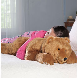 Super-Soft Bear Hug Body Pillow