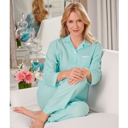 Long Sleeve Tailored Pajamas
