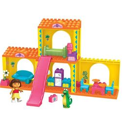 Dora's Deluxe Buildable Mega Bloks Playset