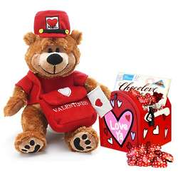 Love Letters Plush Teddy Bear and Mailbox