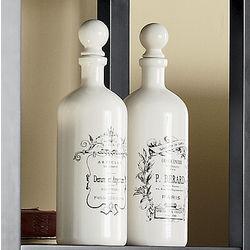Glazed Dolomite Continental Bottles
