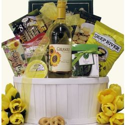 Garden Varieties Wine Gift Basket