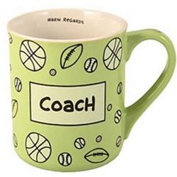 Coach Surprise Message Coffee Mug