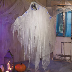Hanging Death Ghost with Blue Lights