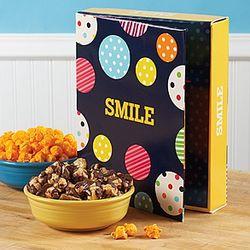 Smile Large Popcorn Card