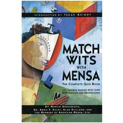 Match Wits with MENSA Book