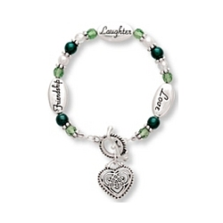Friendship, Laughter, Love Bracelet