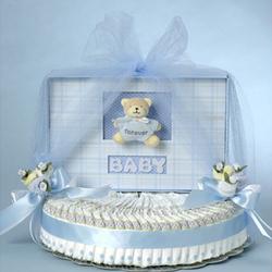 Forever Baby Diaper Cake for Boy